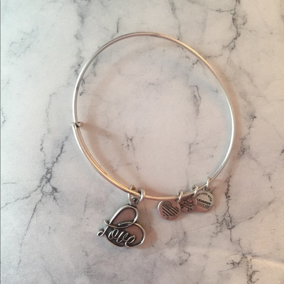 71b3e72230866f Alex and Ani Jewelry | Love Charm Bangle | Poshmark